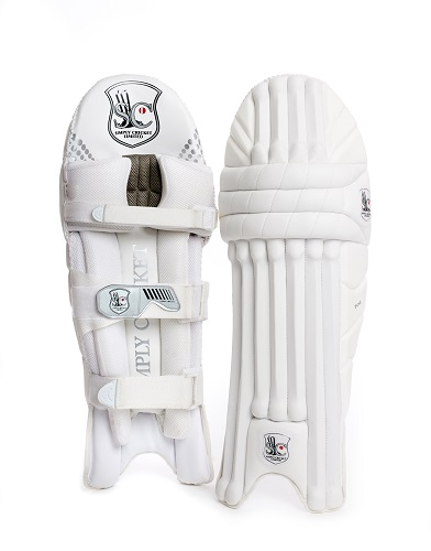 Simply Cricket Test Pads (front and back)