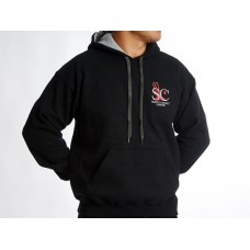 Hoody, Black and Grey, Simply Cricket